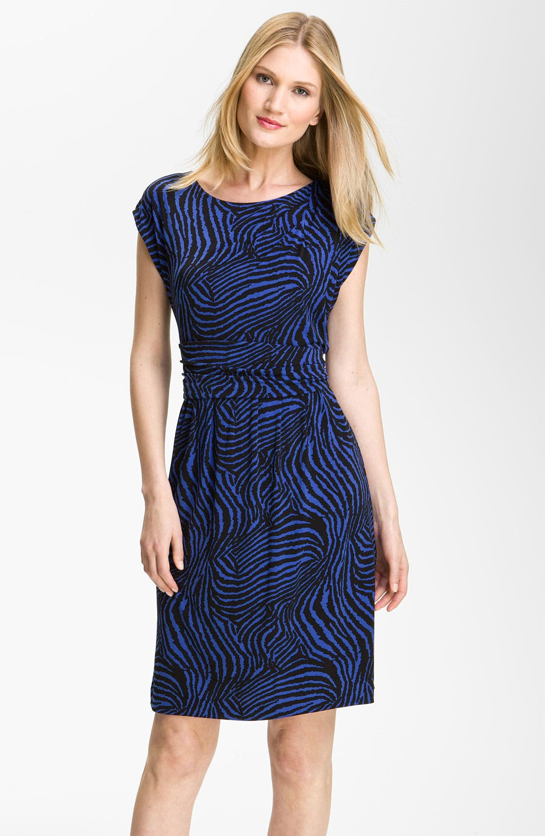 Alternate Image 1 Selected - Chaus Zebra Print Dress
