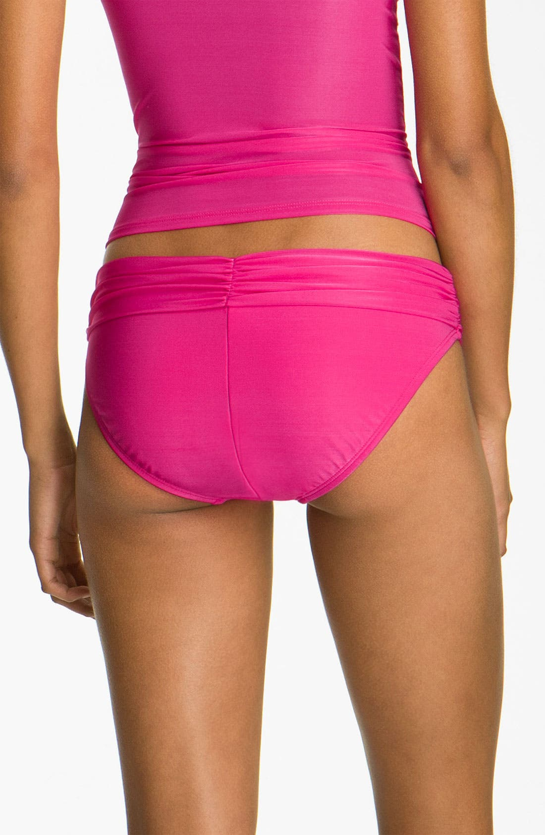 Alternate Image 2  - La Blanca 'Diabolo' Hipster Bikini Bottoms