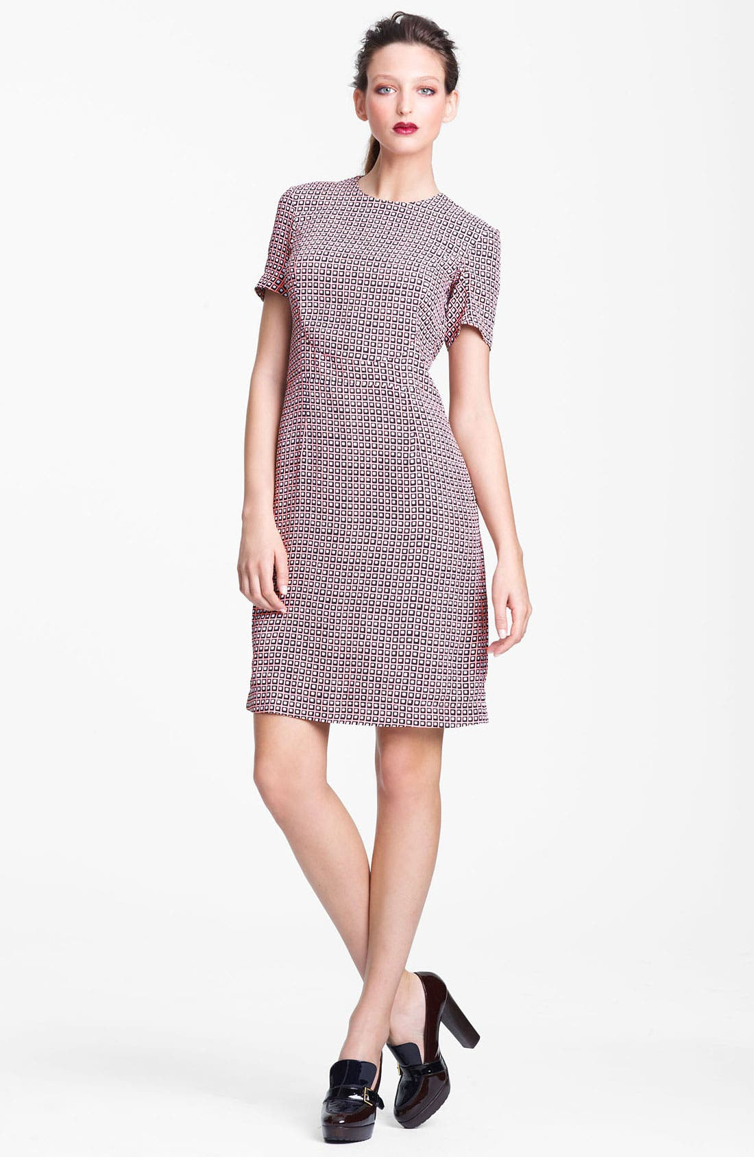 Main Image - Marni Edition Print Woven A-Line Dress