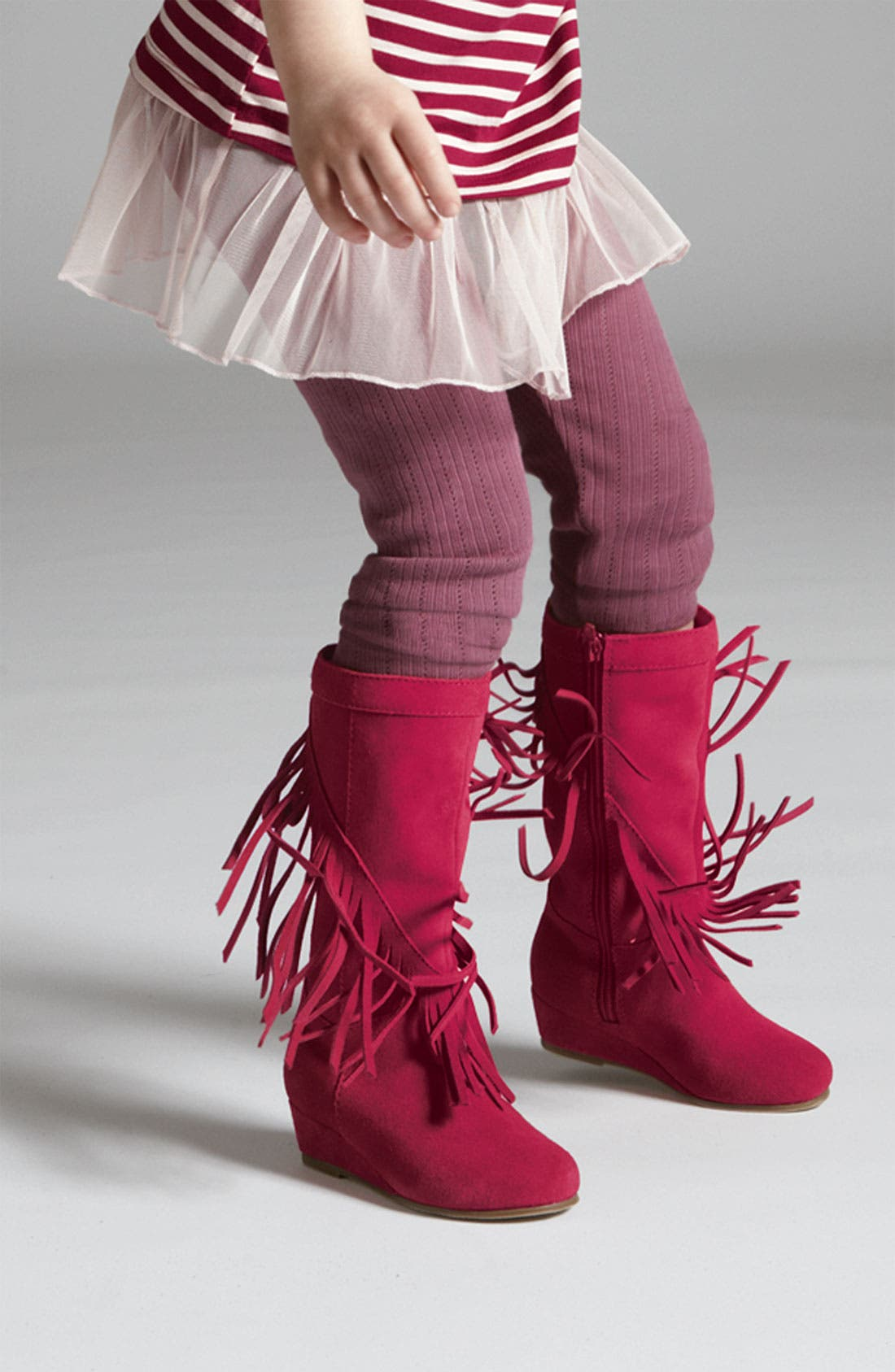 Alternate Image 5  - Steve Madden 'Fringey' Boot (Toddler)