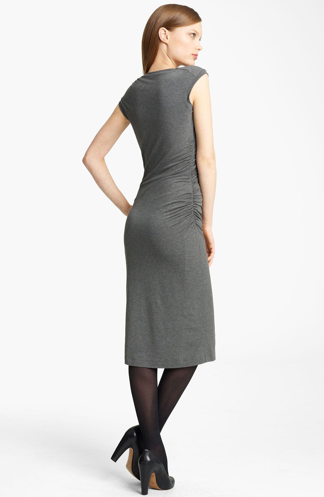 Alternate Image 2  - Lida Baday Ruched Jersey Dress