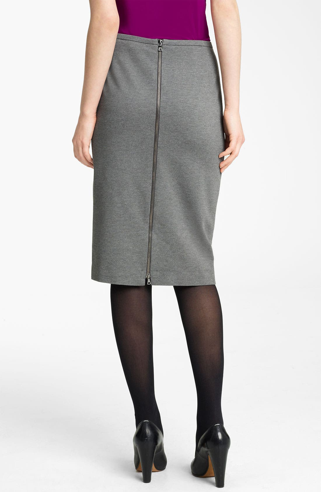 Alternate Image 2  - Lida Baday Knit Skirt