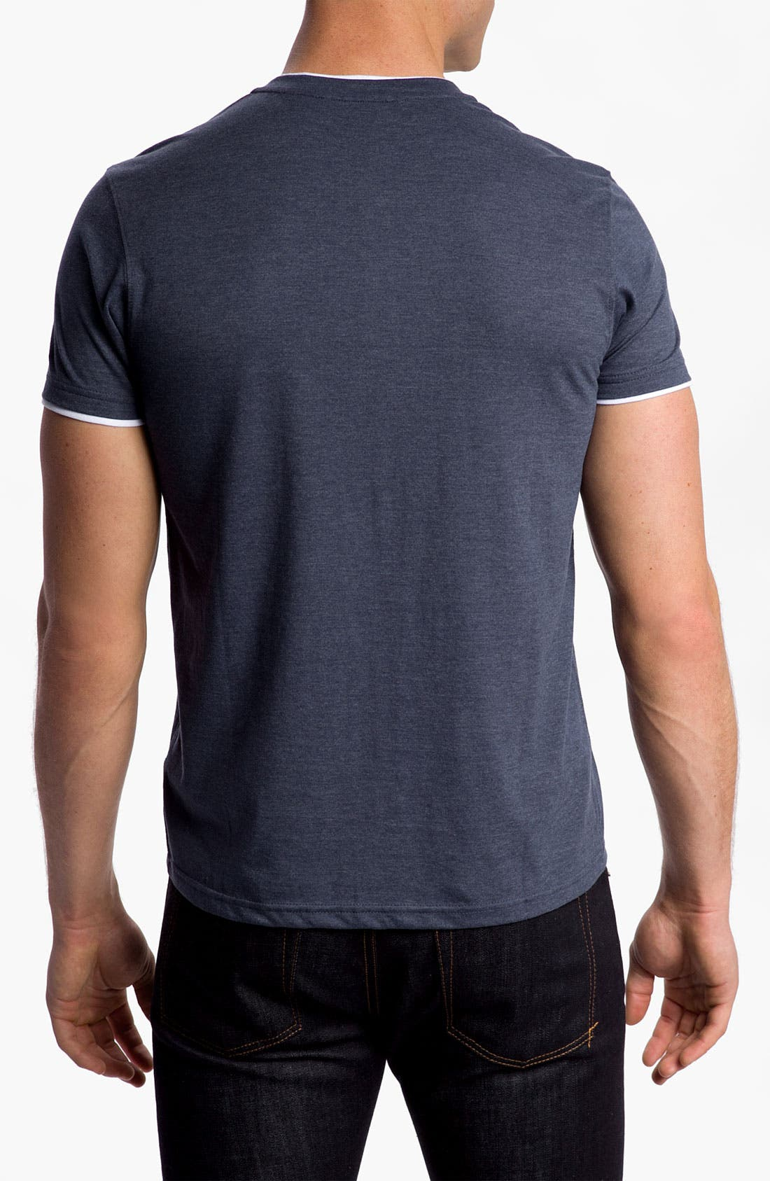 Alternate Image 2  - Ben Sherman Short Sleeve Henley