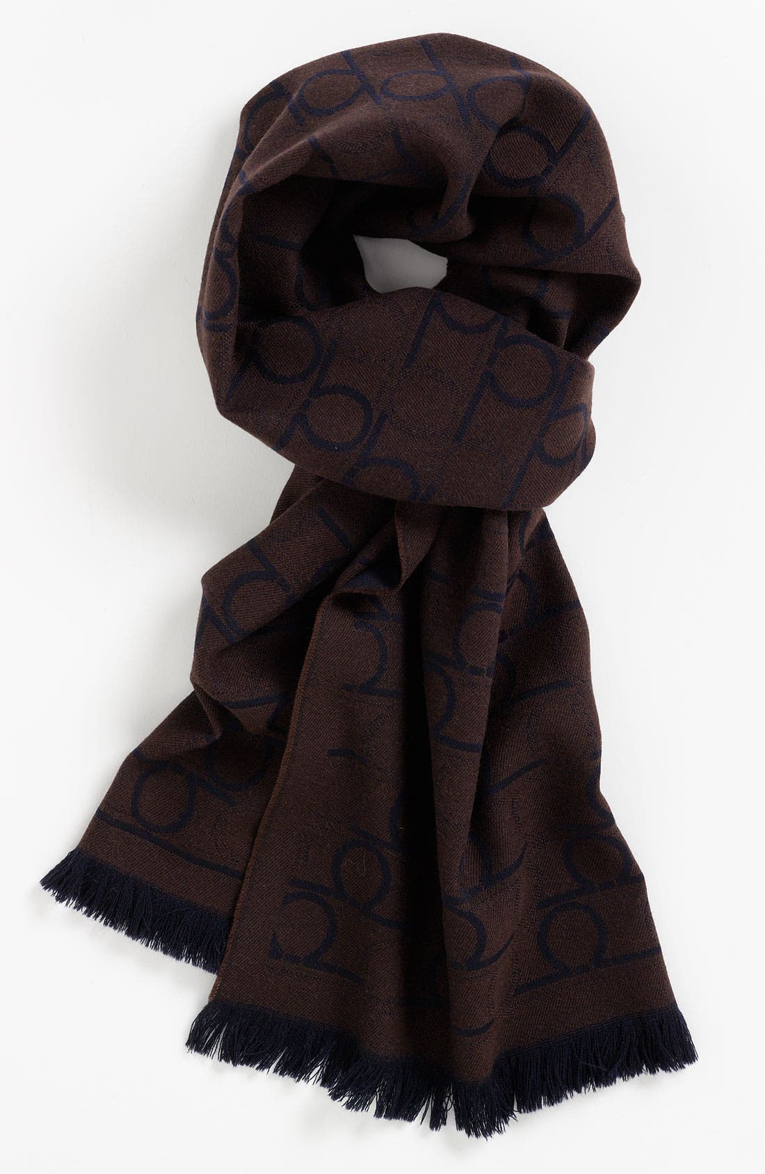 Alternate Image 1 Selected - Salvatore Ferragamo Gancini Pattern Scarf