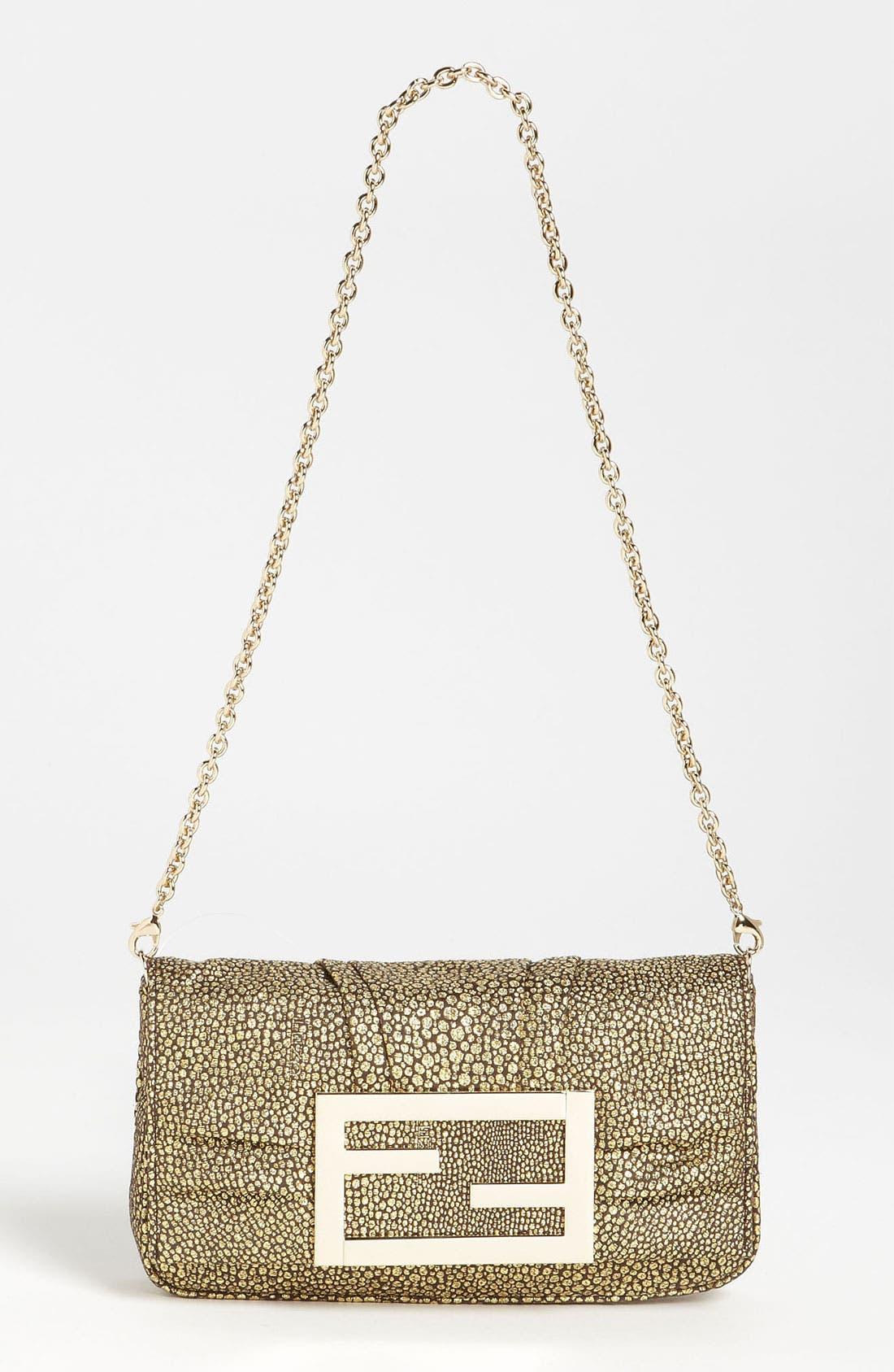 Main Image - Fendi 'Mia' Fabric Evening Bag