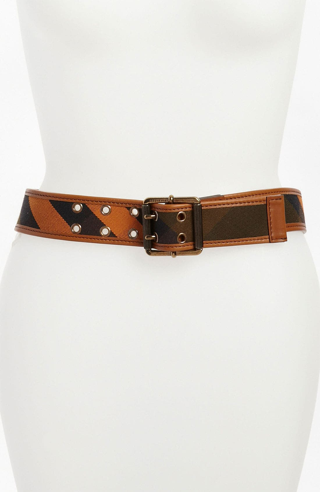 Alternate Image 1 Selected - Burberry Check Belt