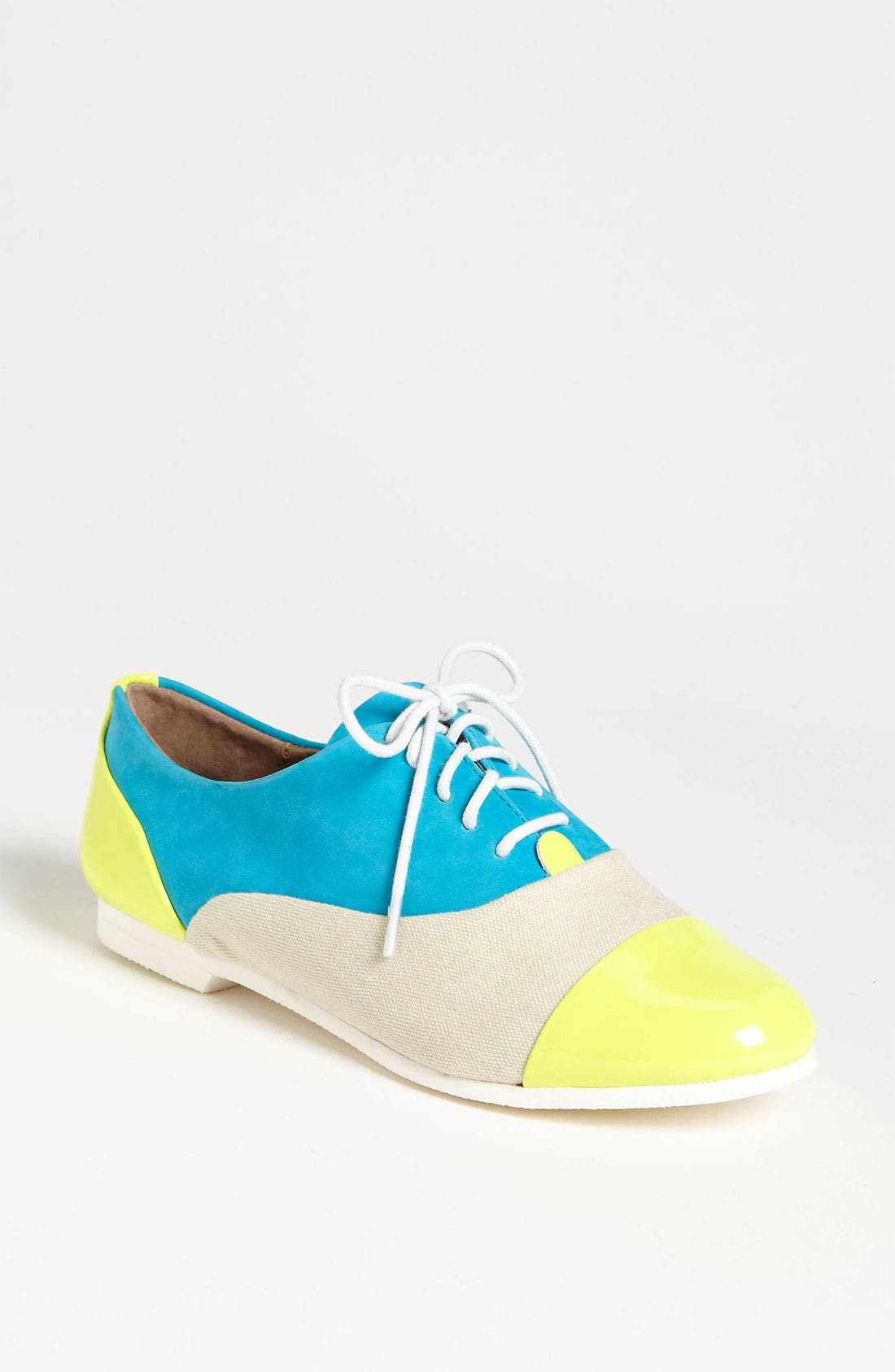 Alternate Image 1 Selected - Steve Madden 'Taxxi' Oxford Flat