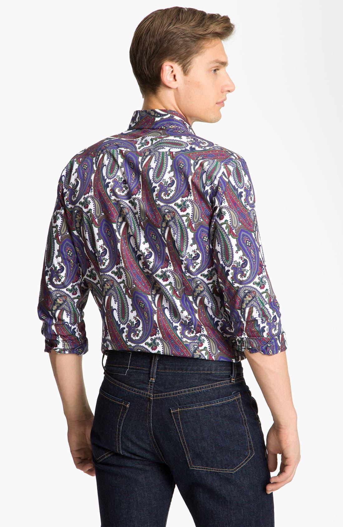 Alternate Image 3  - Etro Paisley Shirt
