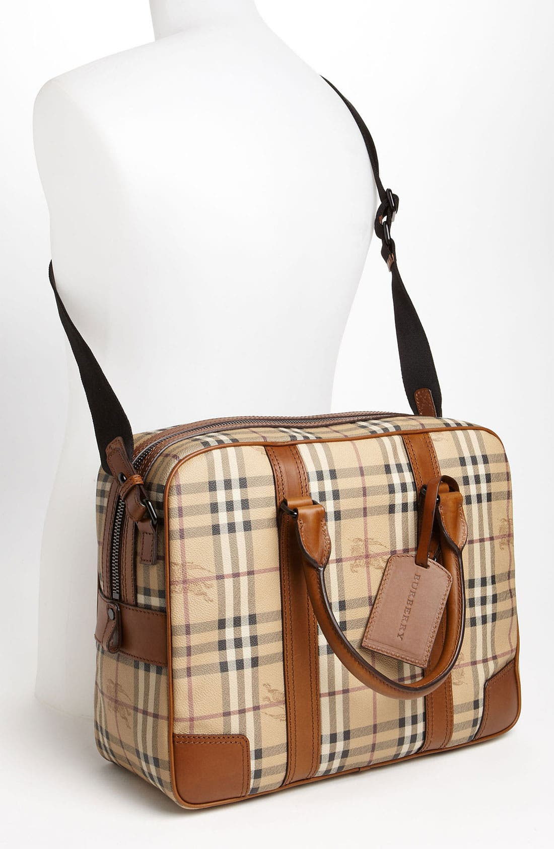 Alternate Image 4  - Burberry 'Haymarket Check' Briefcase