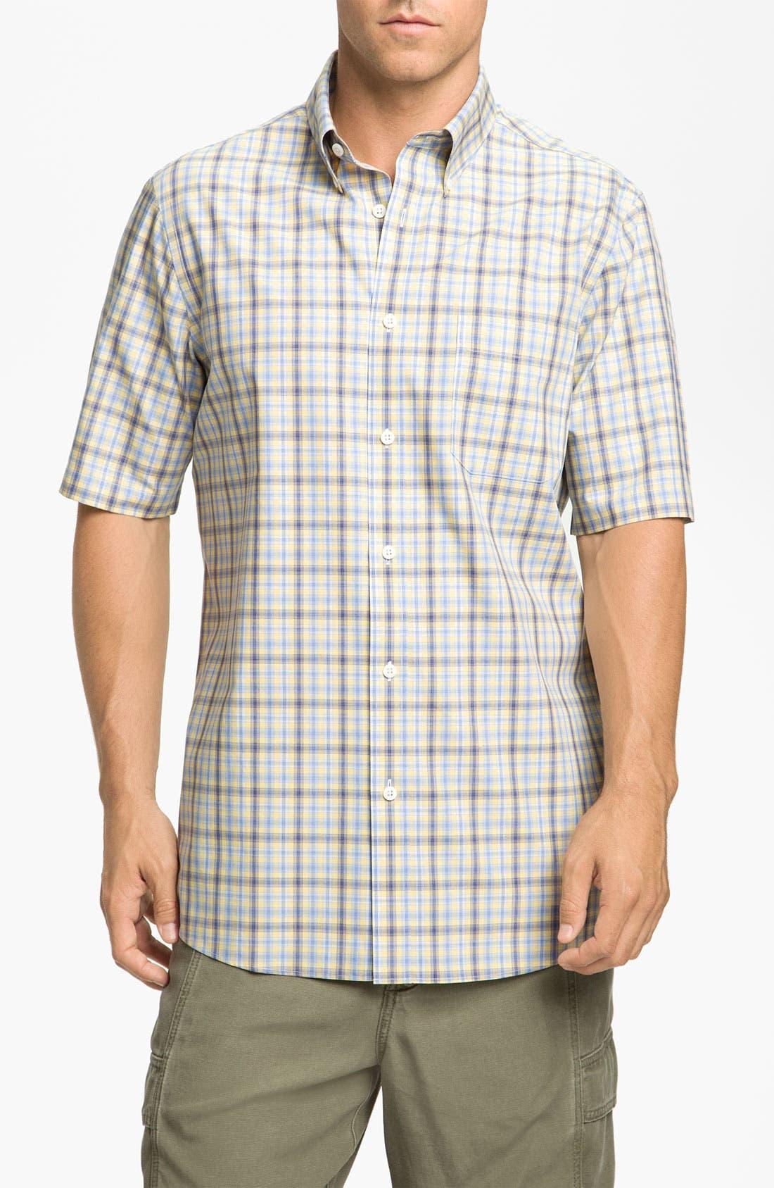 Main Image - Nordstrom Smartcare™ Poplin Sport Shirt