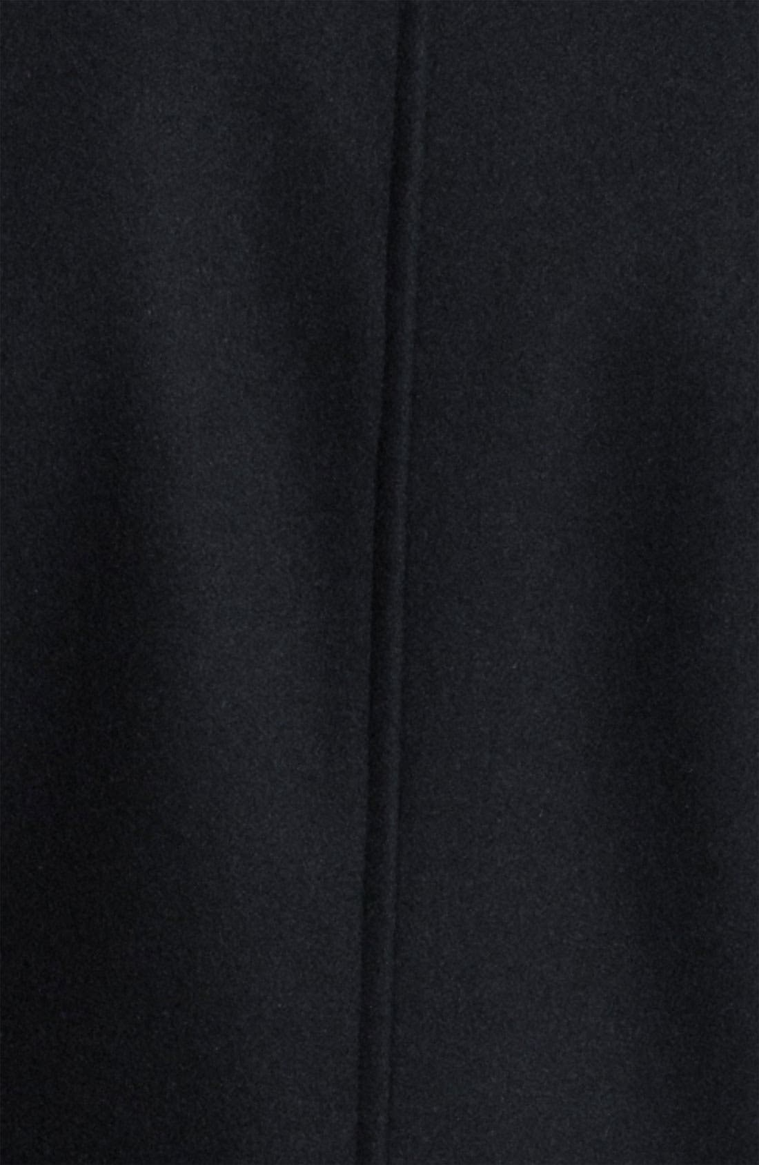 Alternate Image 3  - Burberry Brit Wool Blend Trim Fit Trench Coat