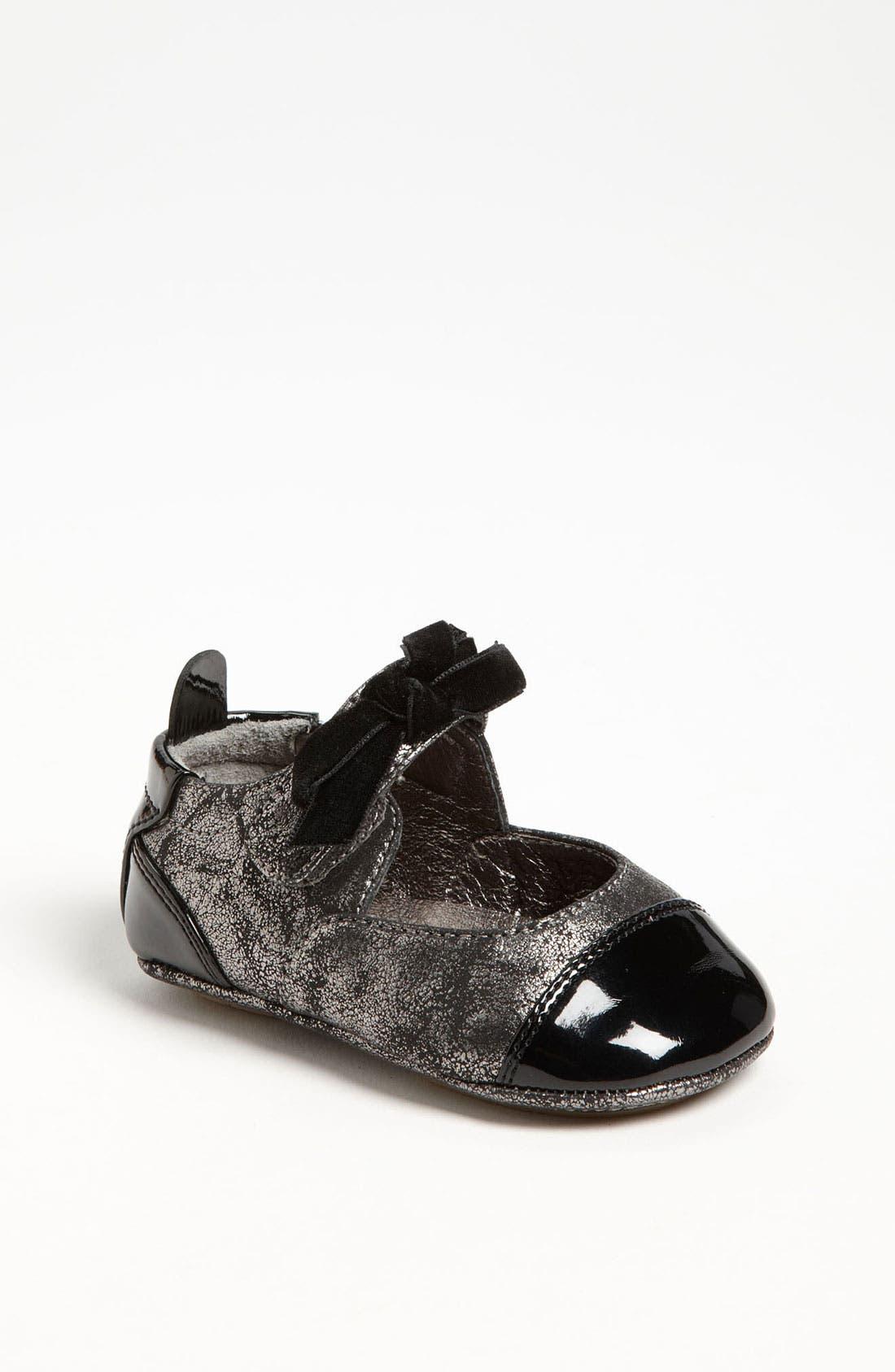 Main Image - Cole Haan 'Mini Cap Toe' Leather Crib Shoe (Baby)