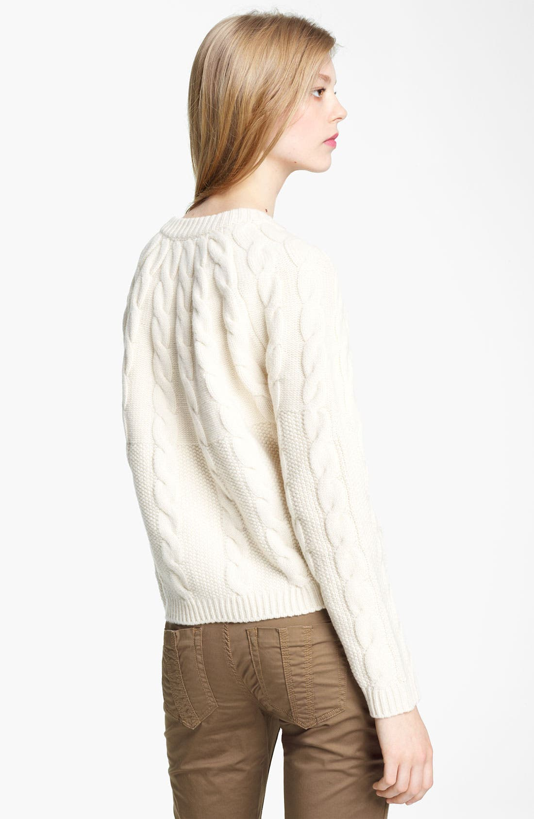 Alternate Image 2  - Burberry Brit Knit Sweater