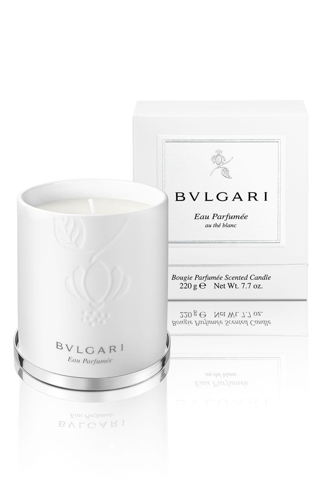 Alternate Image 2  - BVLGARI 'Eau Parfumée au thé blanc' Candle