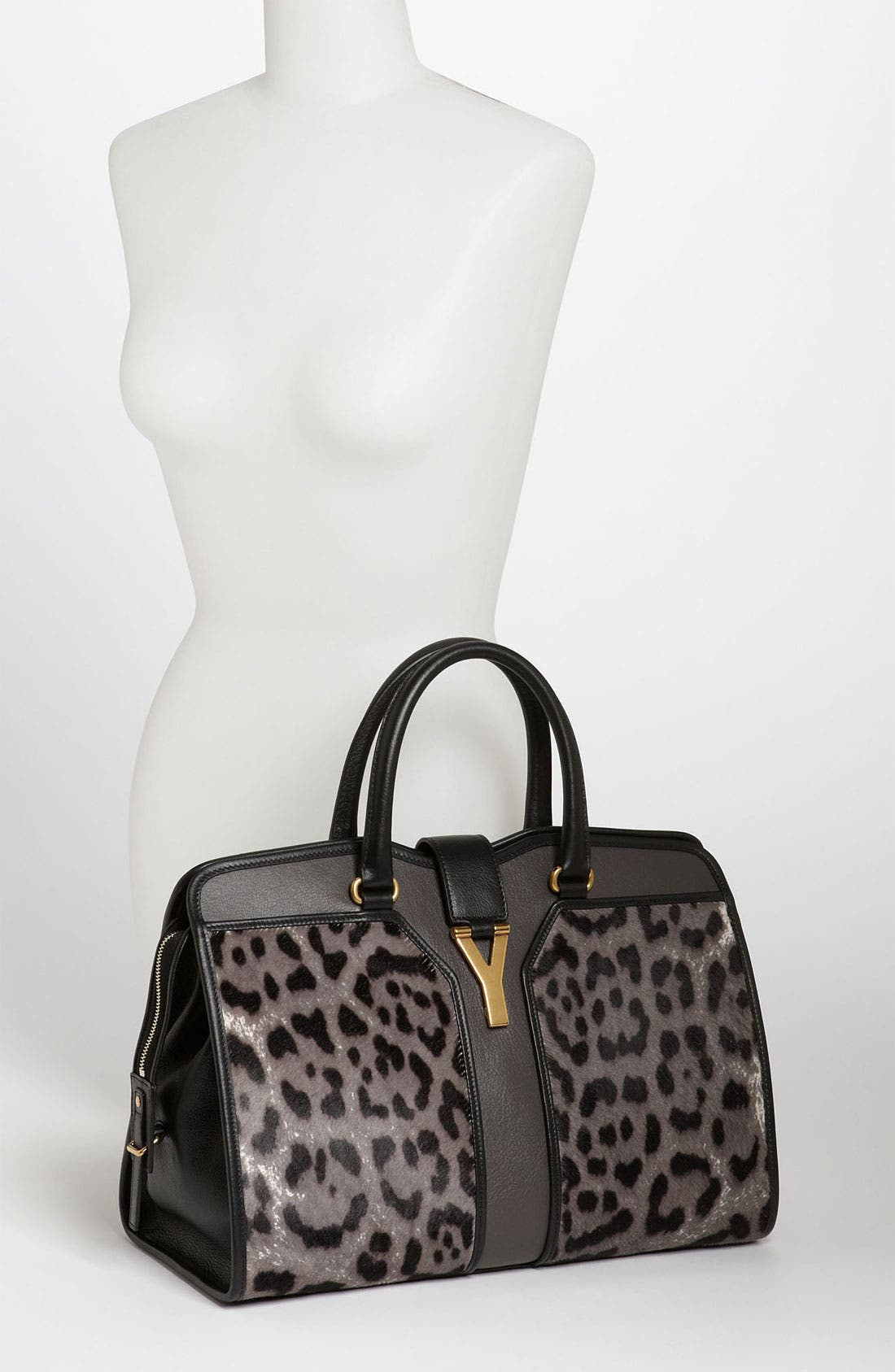 Alternate Image 2  - Yves Saint Laurent 'Cabas Chyc - Medium' Calf Hair Satchel