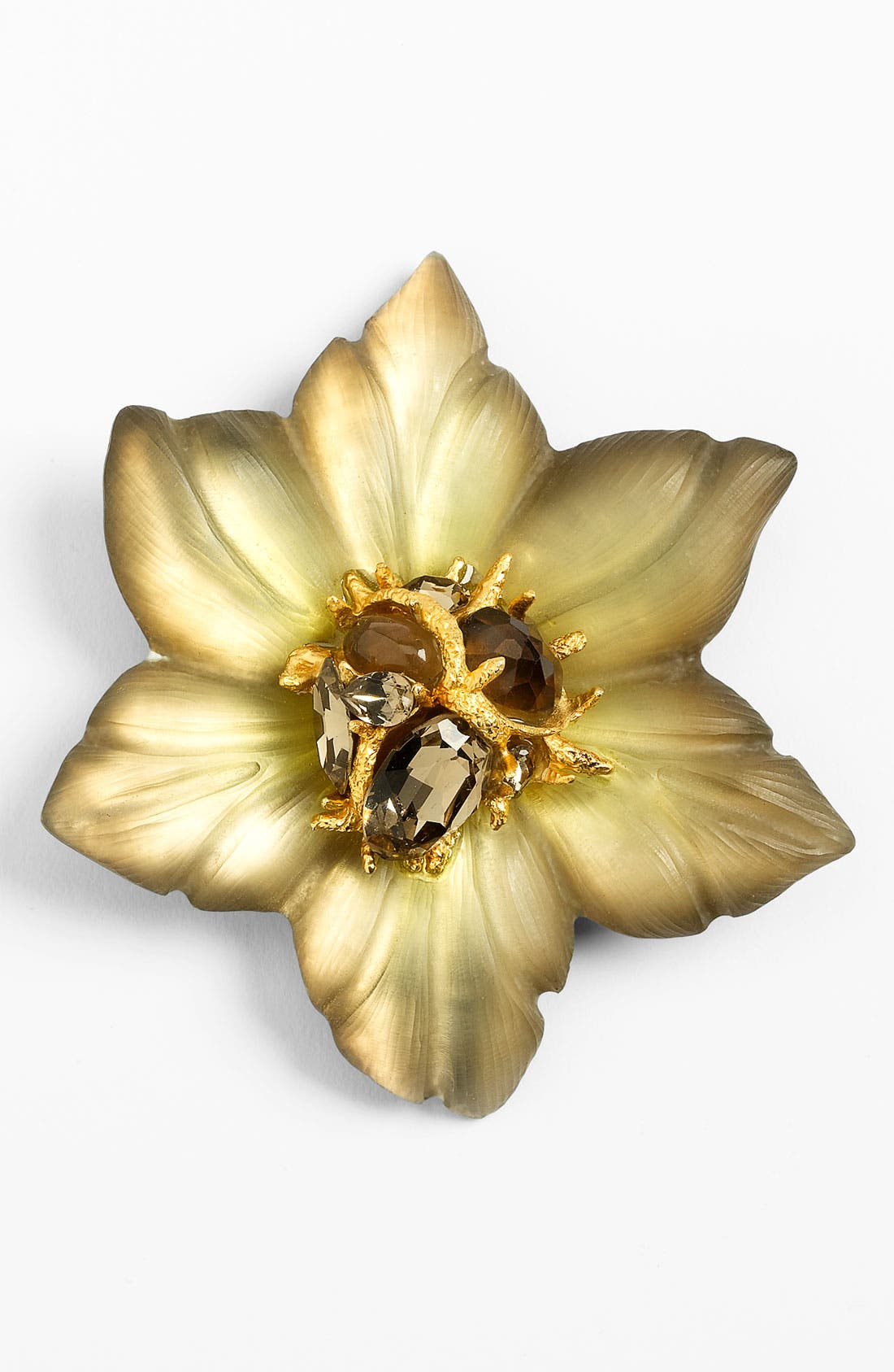 Main Image - Alexis Bittar Encrusted Amaryllis Statement Pin (Nordstrom Exclusive)