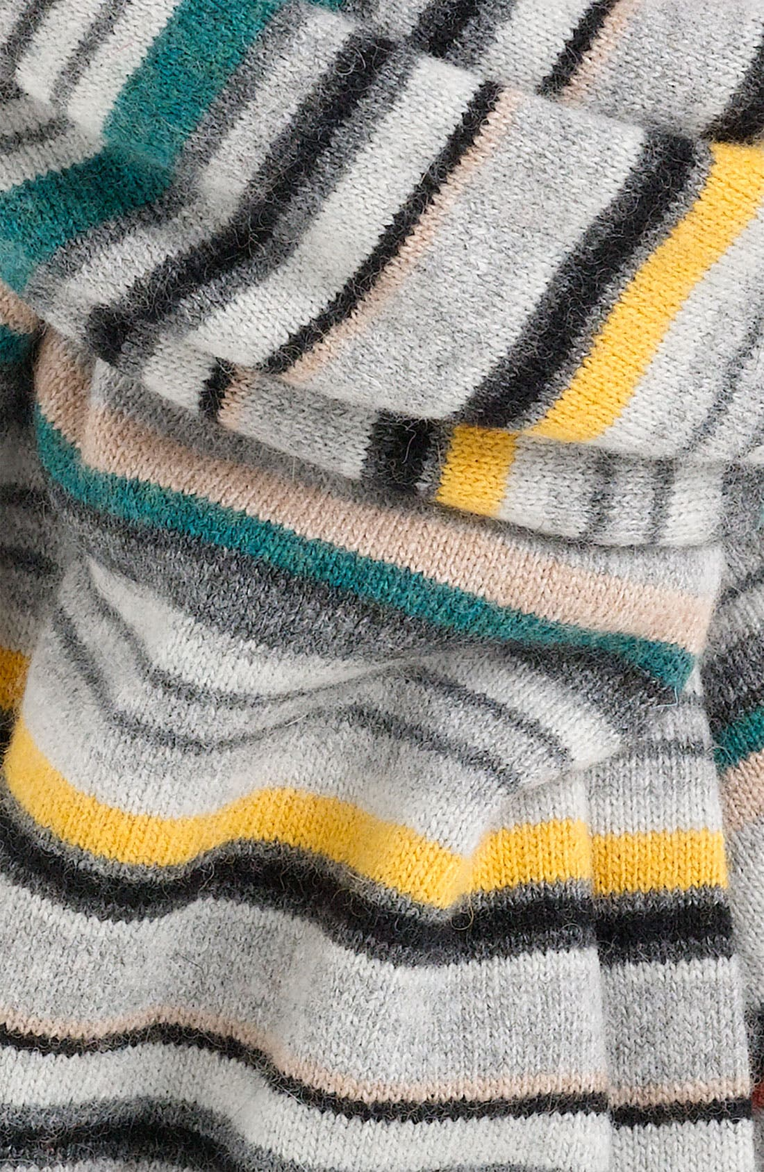 Alternate Image 2  - Paul Smith Accessories Stripe Knit Scarf