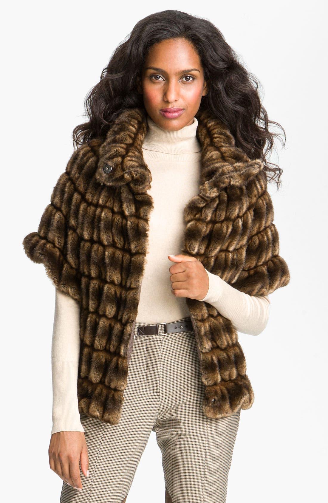 Alternate Image 4  - Weekend Max Mara 'Taso' Faux Fur Jacket