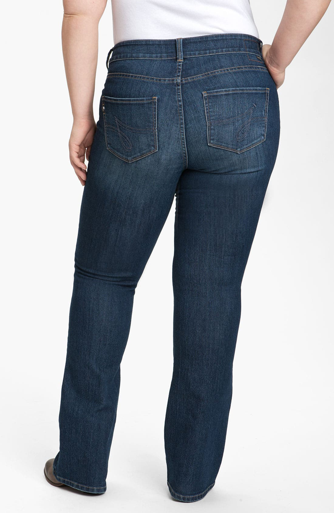 Alternate Image 2  - Jag Jeans 'Lucy' Bootcut Jeans (Petite Plus) (Online Exclusive)