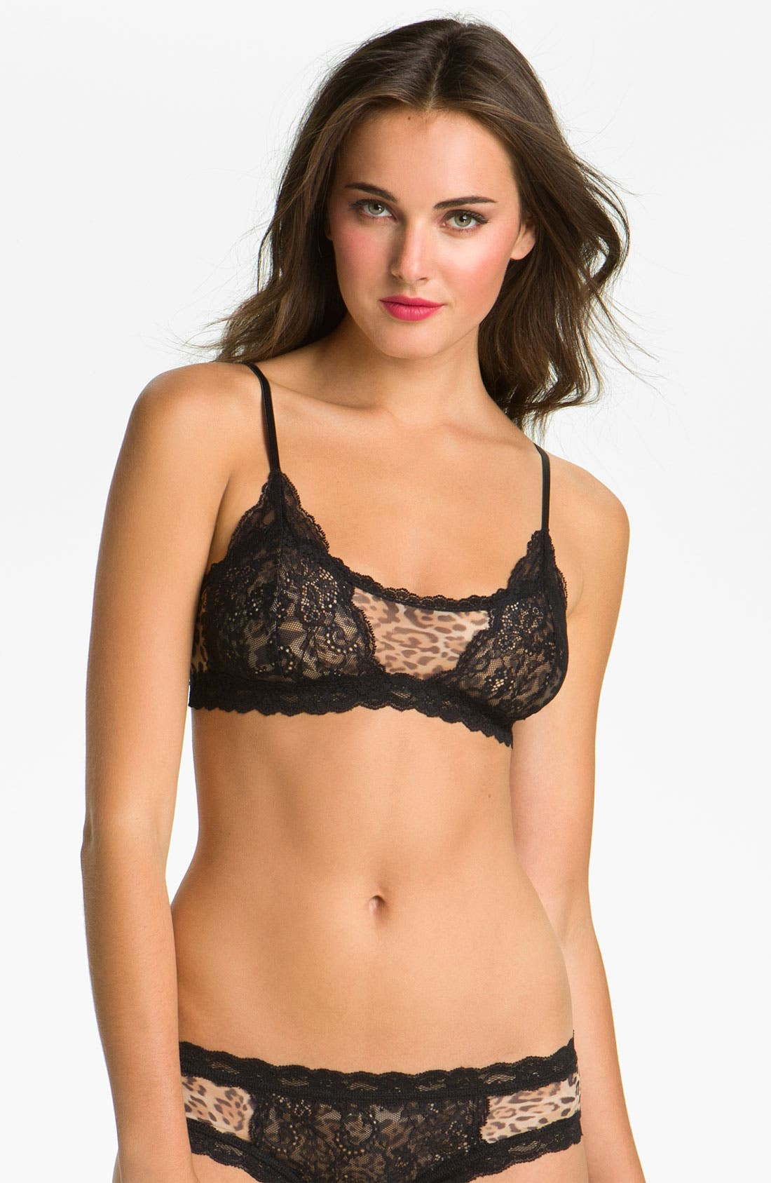 Alternate Image 1 Selected - Hanky Panky 'Nouveau Sheer Enchantment' Bralette