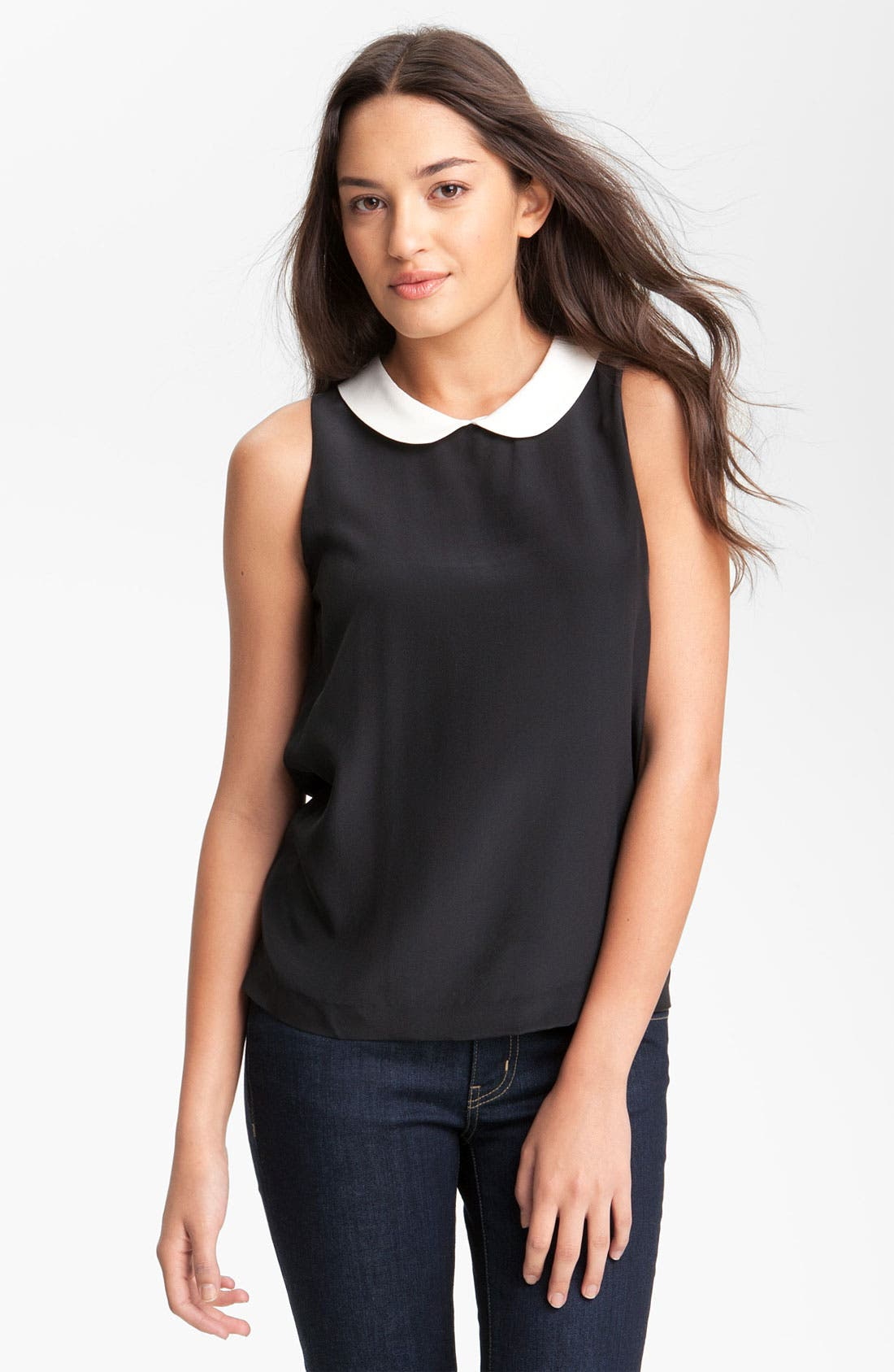 Main Image - kate spade new york 'jensen' silk top