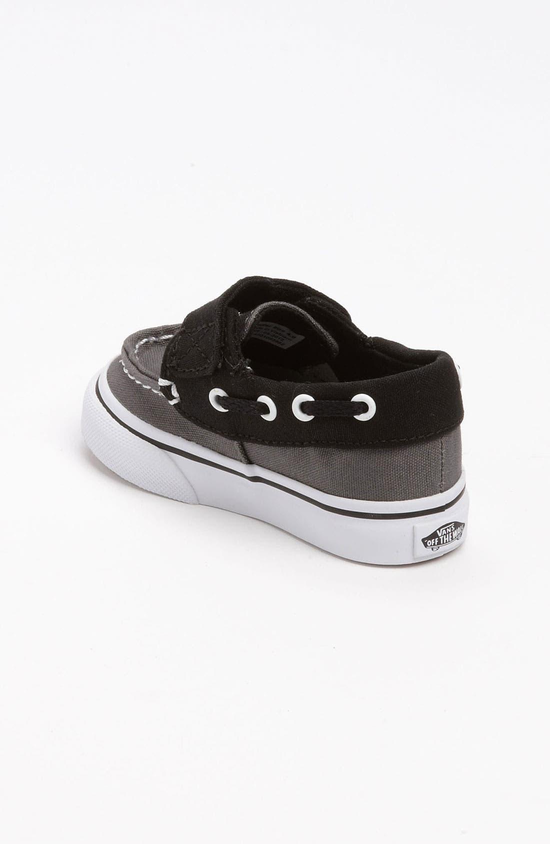 Alternate Image 2  - Vans 'Zapato del Barco V' Boat Shoe (Baby, Walker & Toddler)