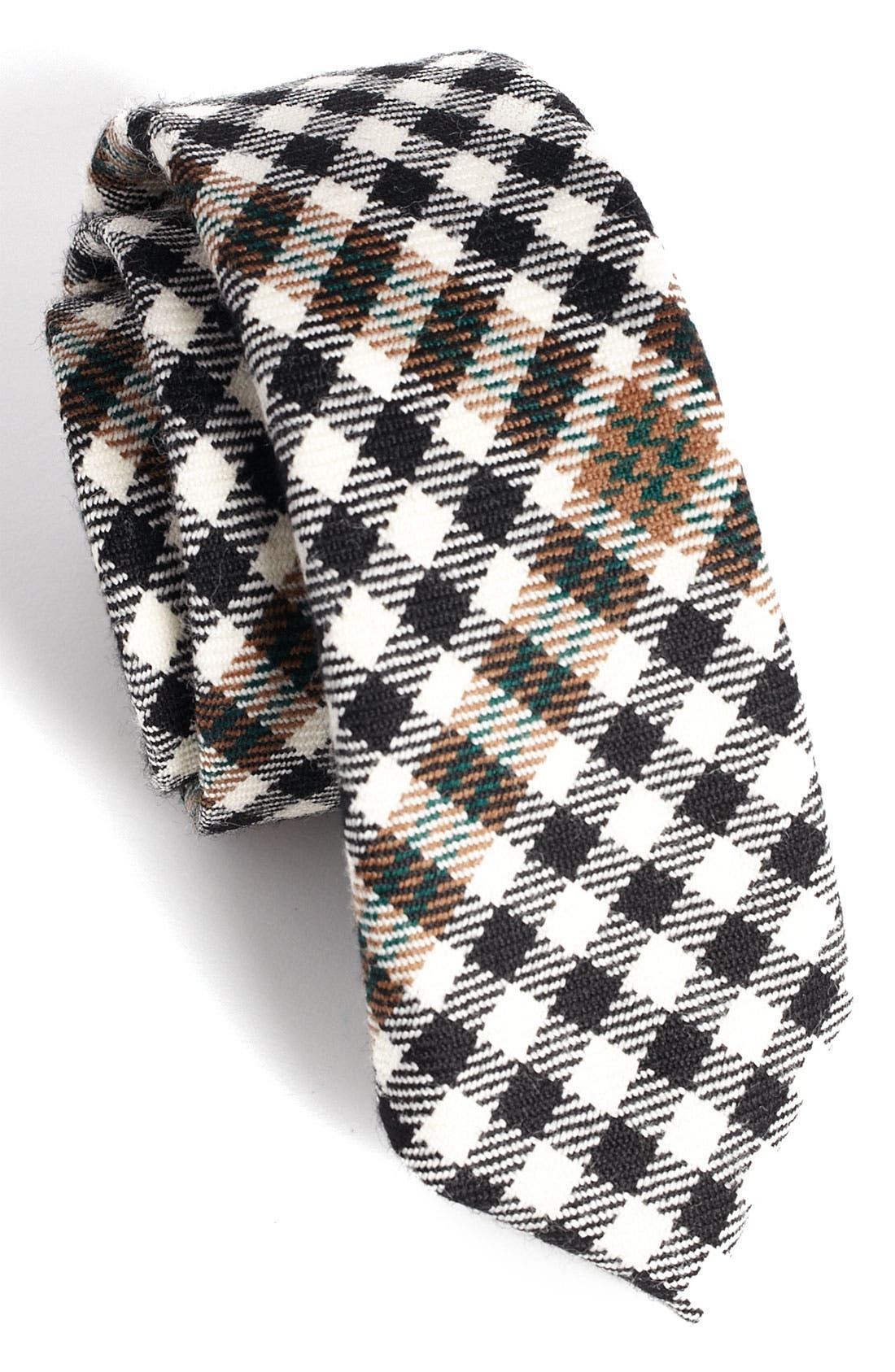 Alternate Image 2  - David Hart Diagonal Check Tie