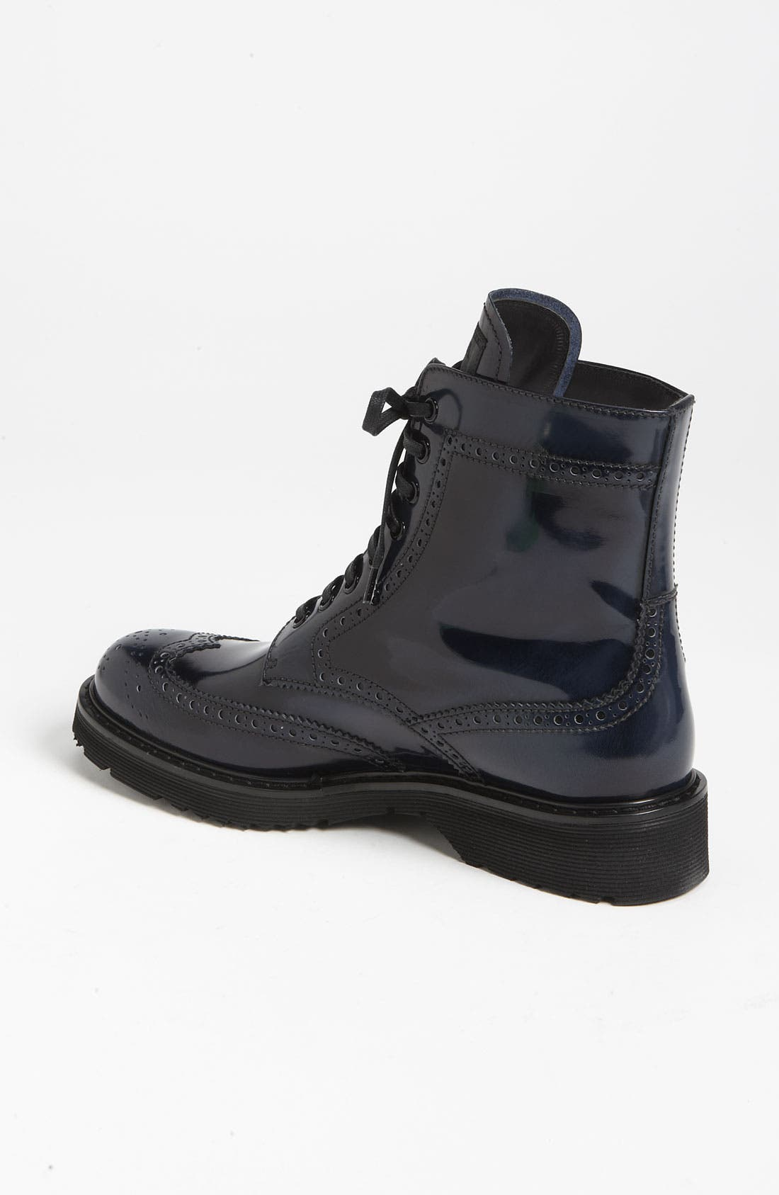 Alternate Image 2  - Prada Spazzolato Combat Boot