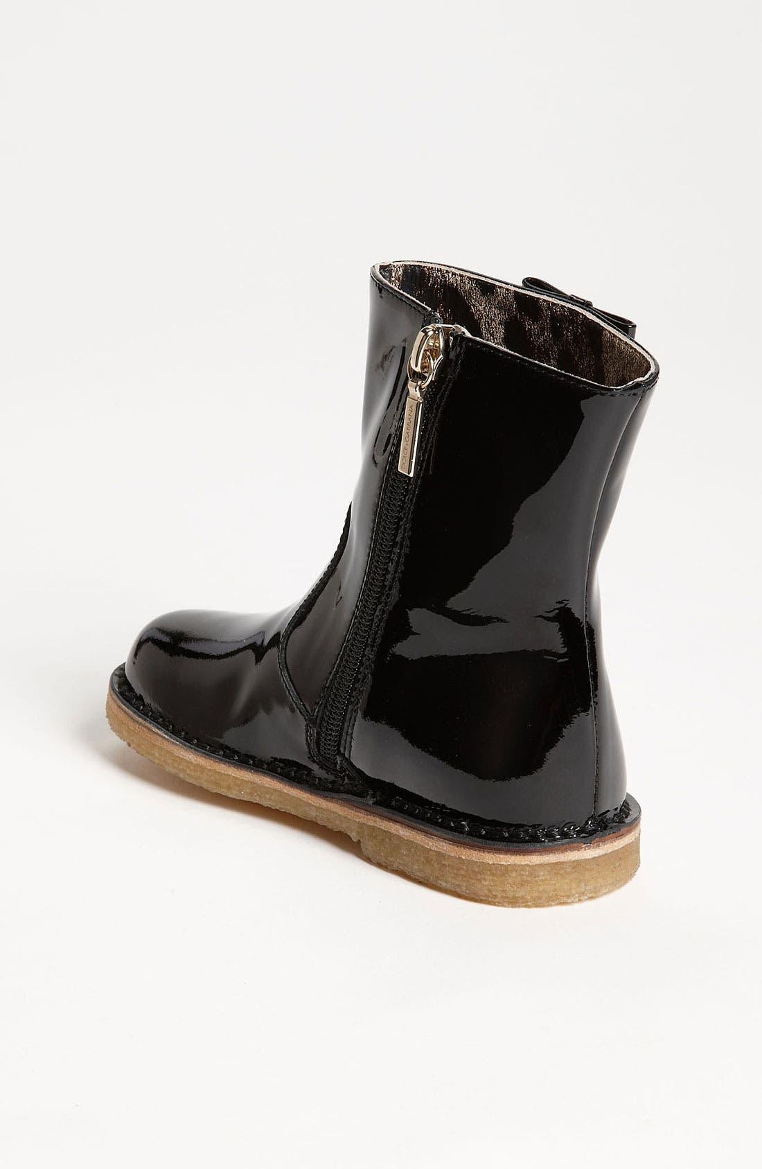 Alternate Image 2  - Dolce&Gabbana Patent Boot (Walker & Toddler)