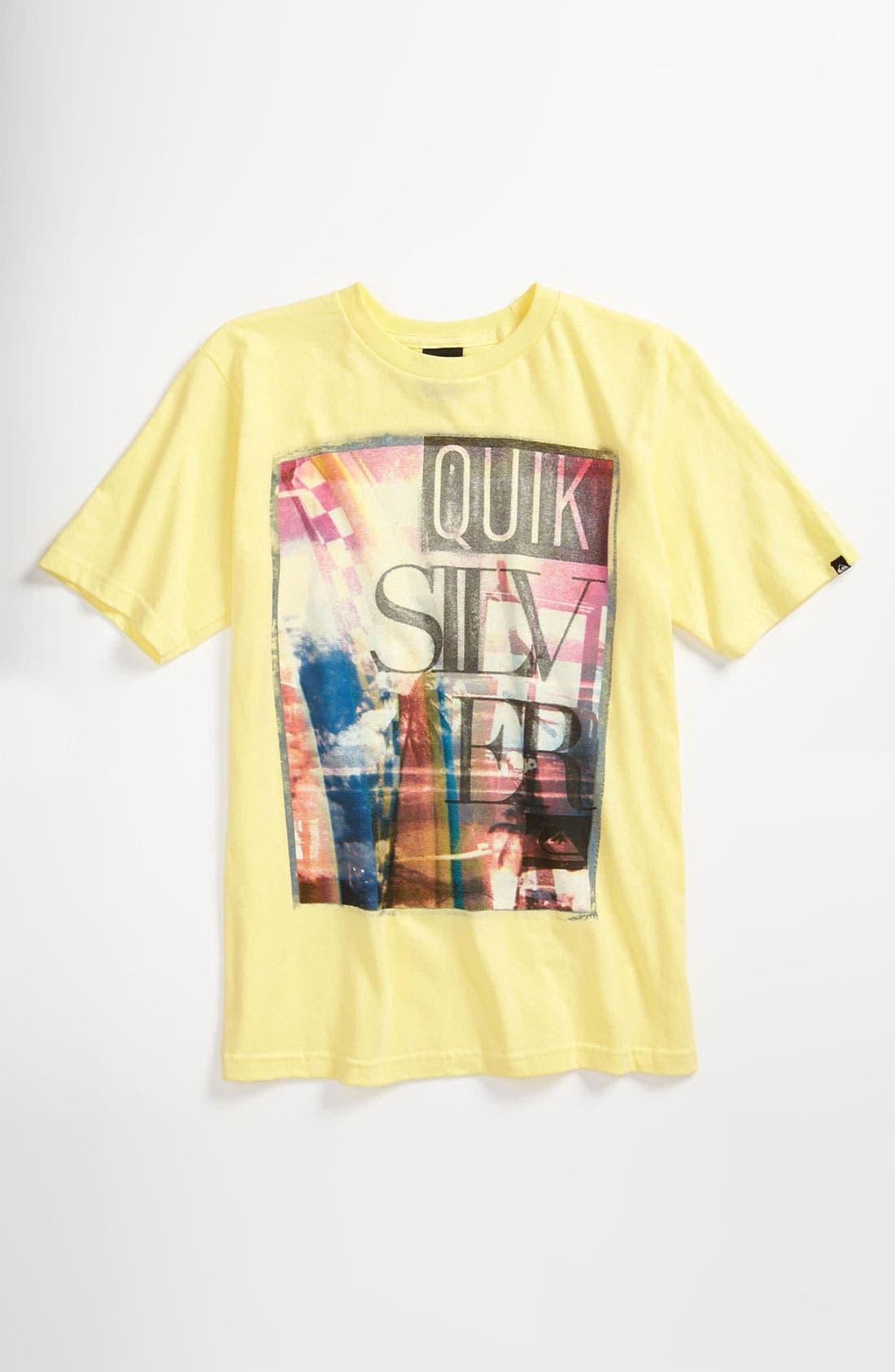 Alternate Image 1 Selected - Quiksilver 'Open Road' T-Shirt (Big Boys)