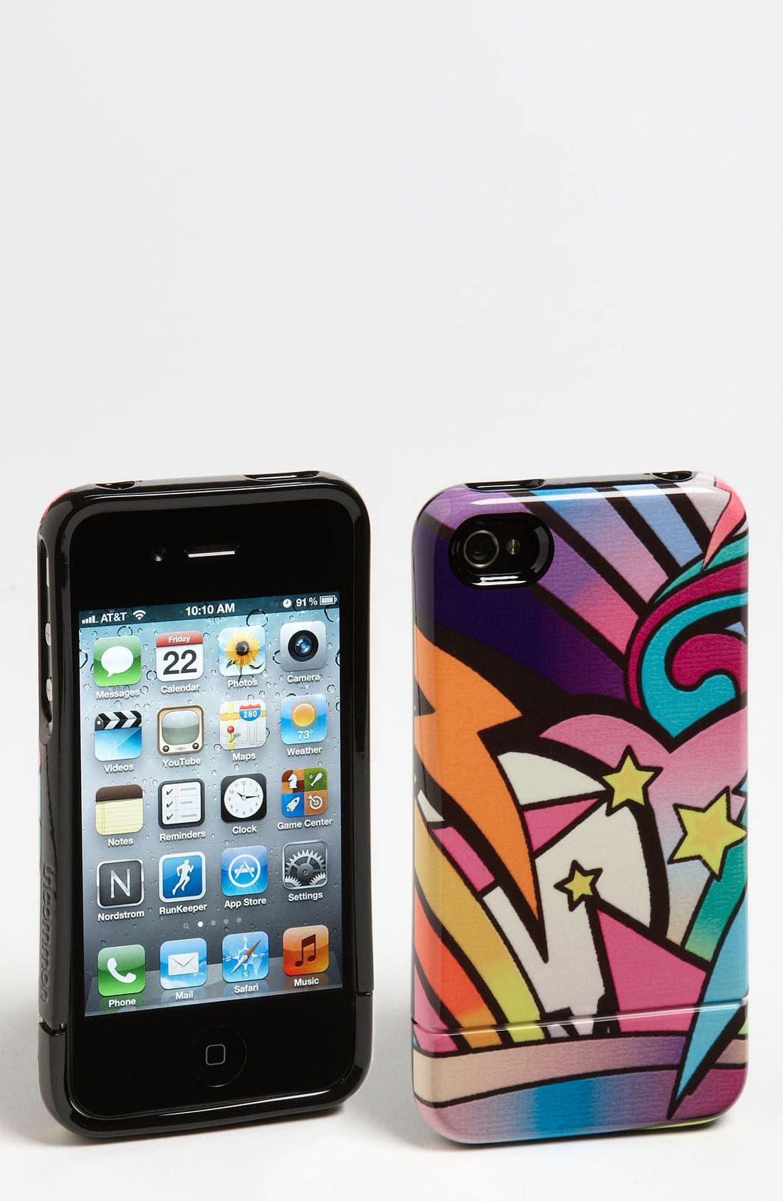 Alternate Image 1 Selected - Uncommon 'Capsule - Graffiti Land' iPhone 4 & 4S Case