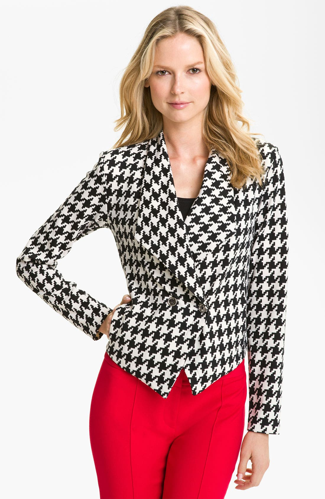 Alternate Image 1 Selected - Anne Klein Houndstooth Jacket