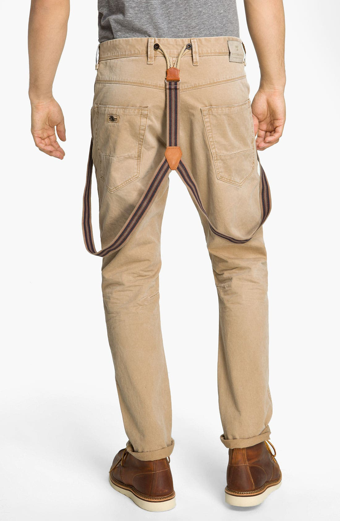 Alternate Image 2  - Scotch & Soda 'Brewer' Slim Tapered Leg Twill Pants