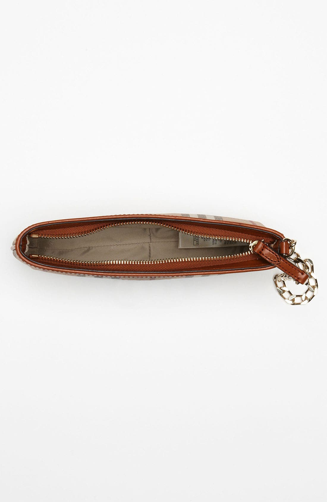 Alternate Image 3  - Burberry 'Haymarket Check' Convertible Wristlet