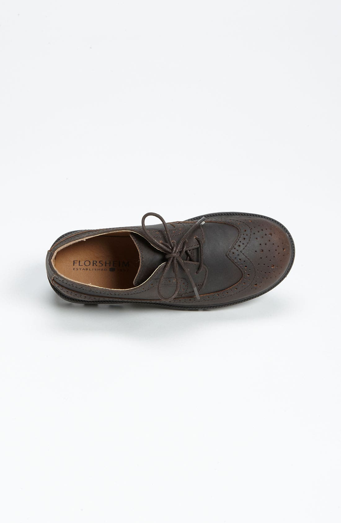 Alternate Image 2  - Florsheim 'Valco' Oxford (Toddler, Little Kid & Big Kid)