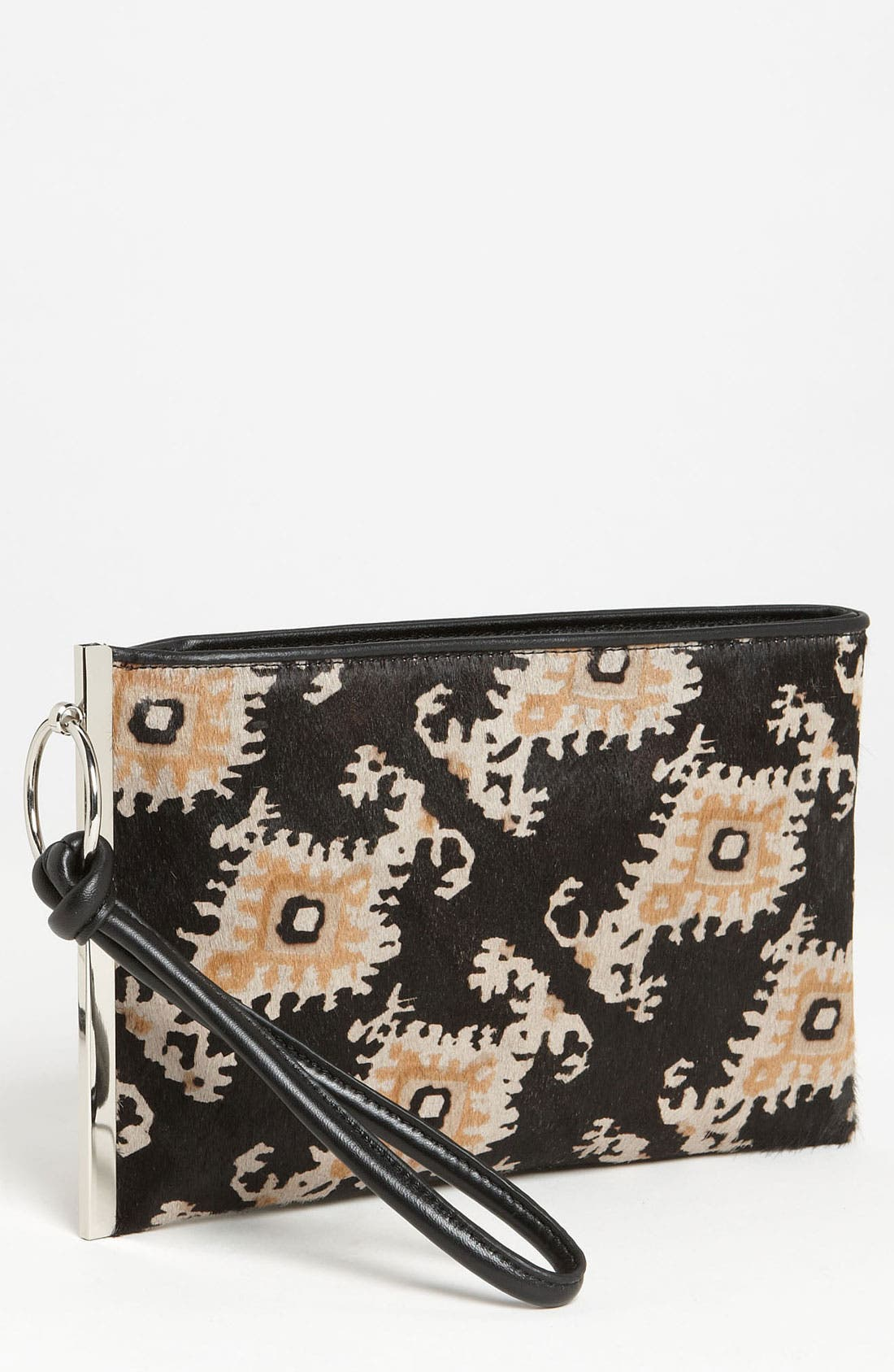 Alternate Image 1 Selected - SR Squared by Sondra Roberts Calf Hair Wristlet