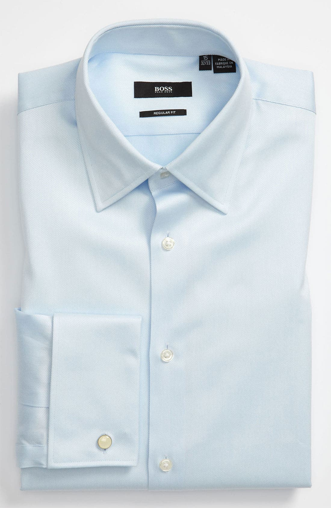 Alternate Image 1 Selected - BOSS 'Lawrence' US Regular Fit French Cuff Dress Shirt