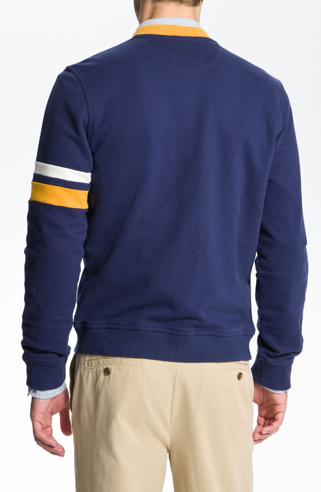 Alternate Image 2  - Brooks Brothers 'Varsity' Cardigan