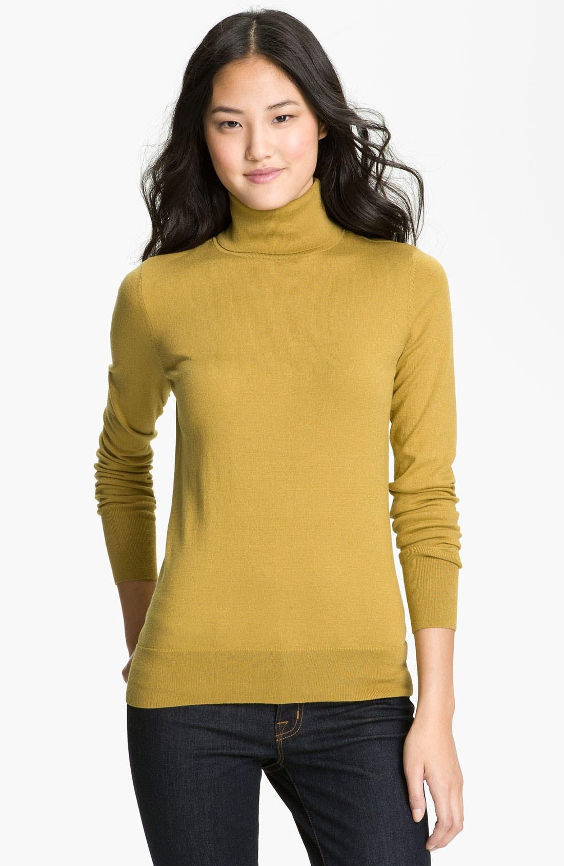 Alternate Image 1 Selected - Halogen® Turtleneck Sweater