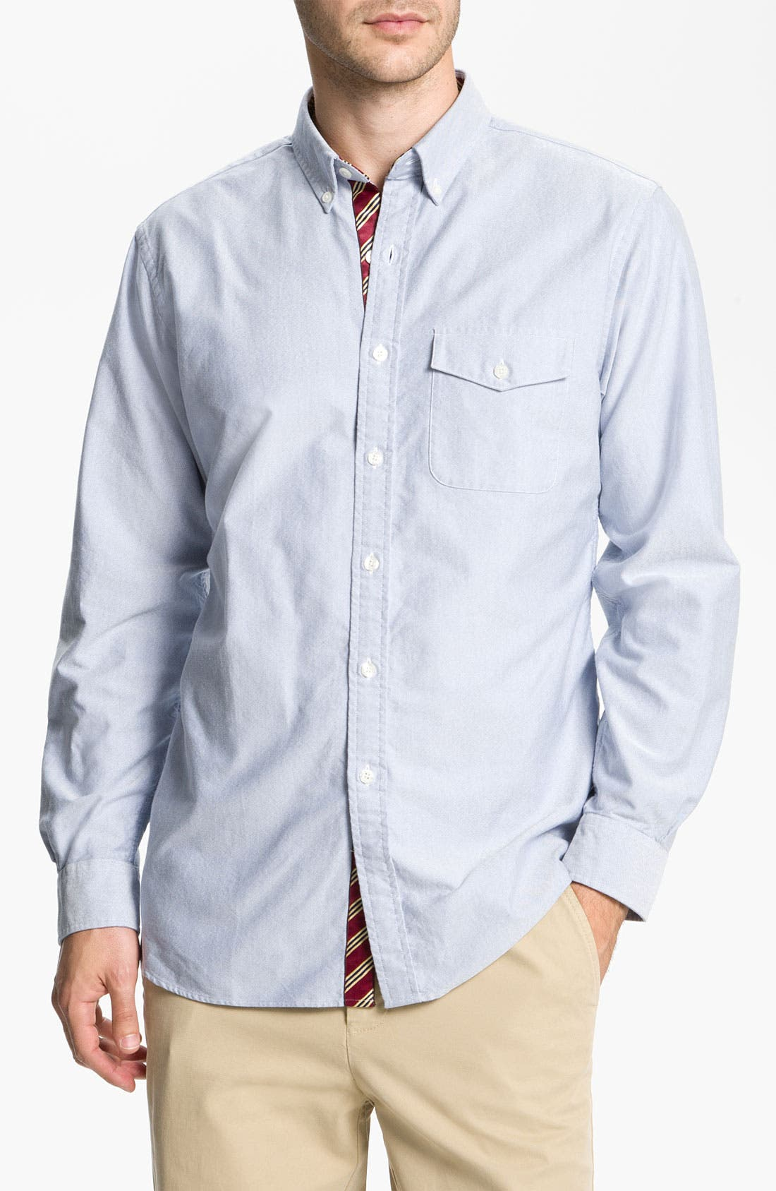Alternate Image 1 Selected - Brooks Brothers Oxford Shirt