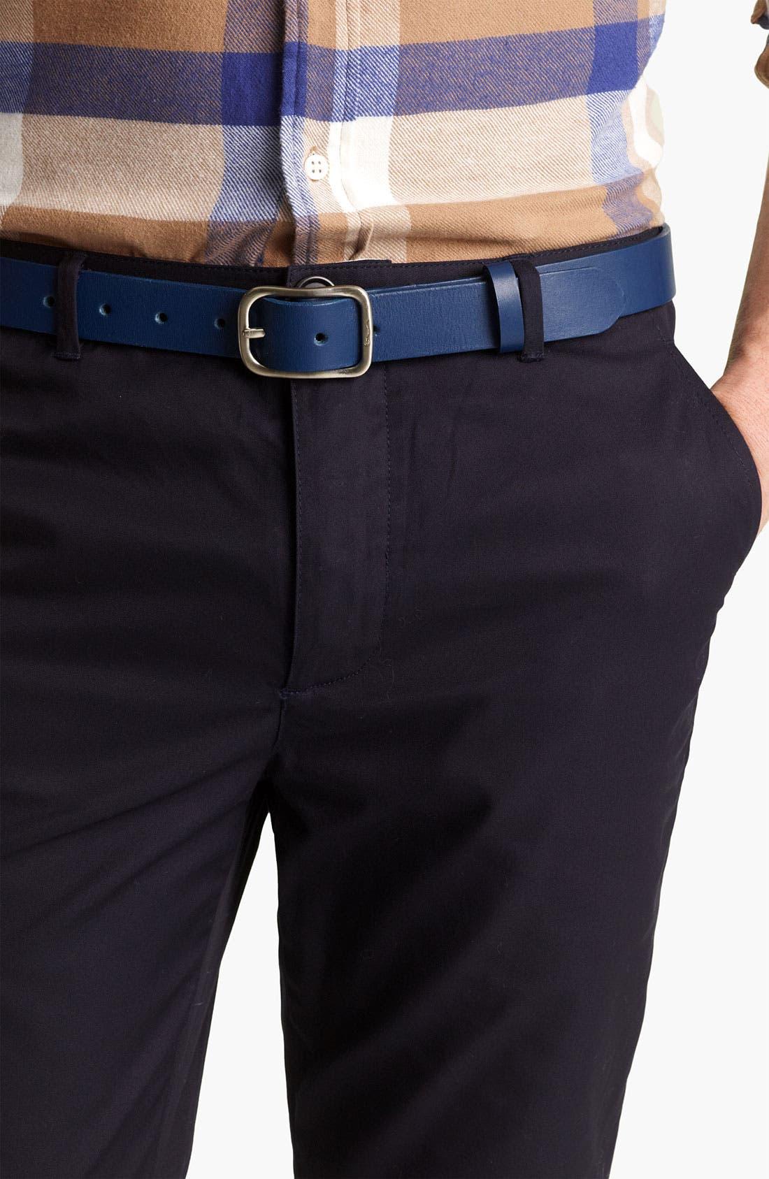 Main Image - Shipley & Halmos 'Cambridge' Leather Belt