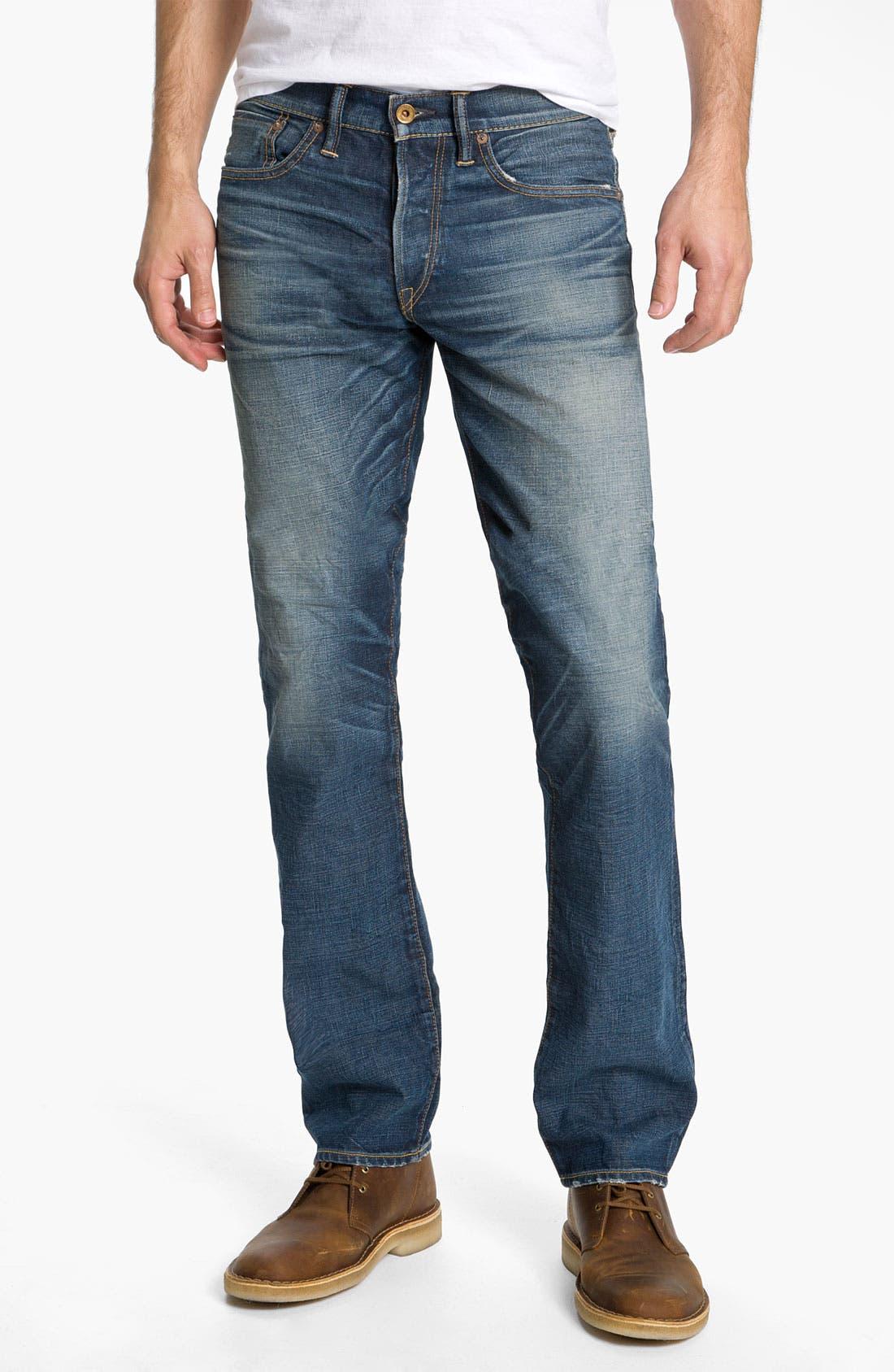 Alternate Image 2  - NSF Clothing Straight Leg Jeans (Reno)