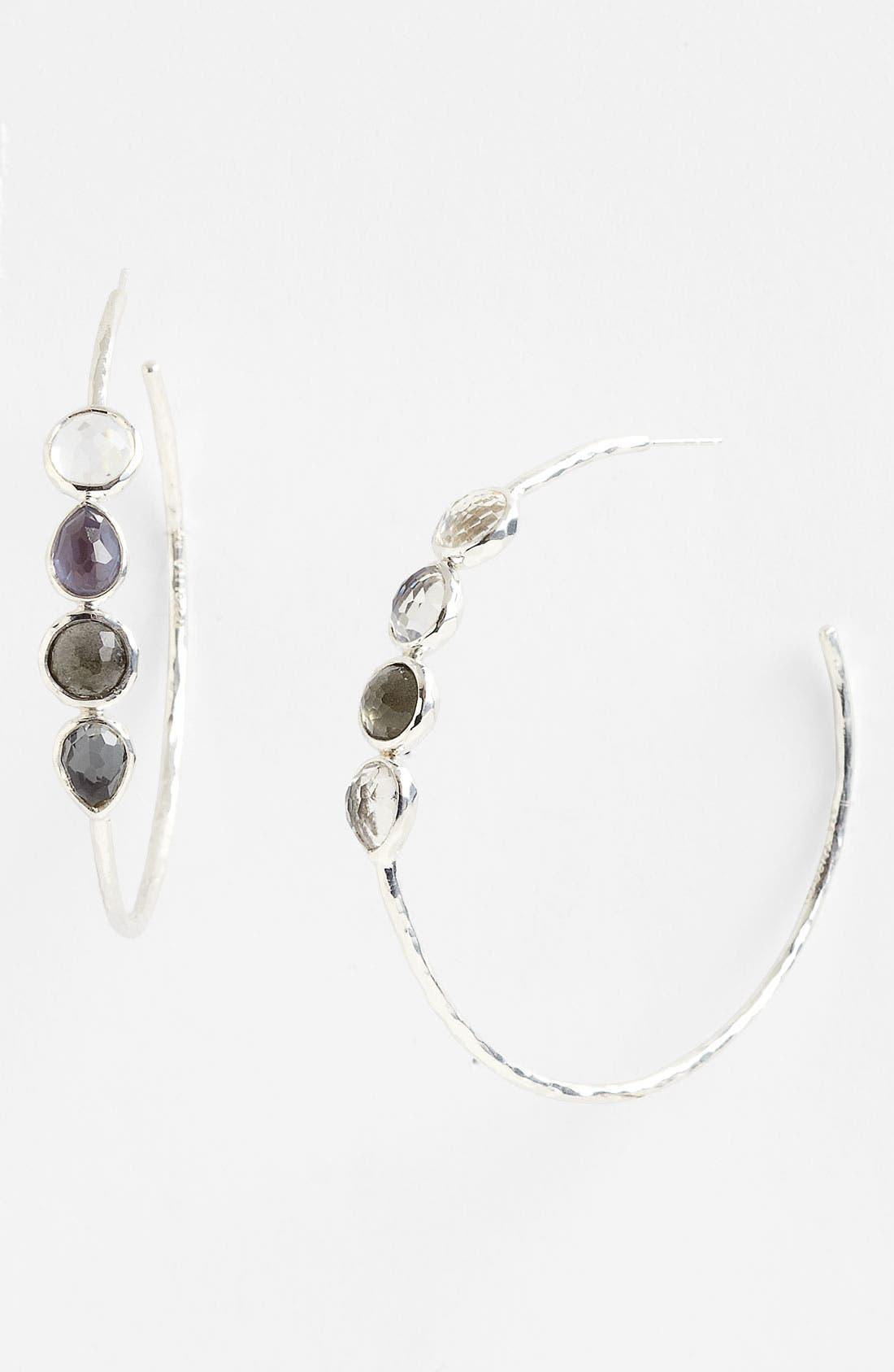 Alternate Image 1 Selected - Ippolita 4-Stone Hoop Earrings (Nordstrom Exclusive)