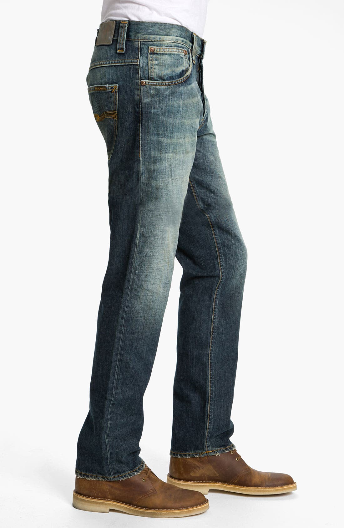 Alternate Image 3  - Nudie 'Hank Rey' Straight Leg Jeans (Organic Used Favorite)