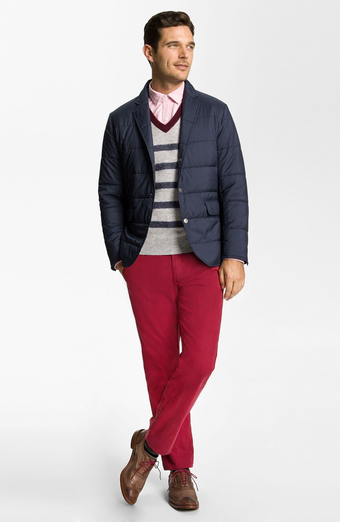 Alternate Image 4  - Brooks Brothers 'University' Quilted Blazer-Cut Jacket
