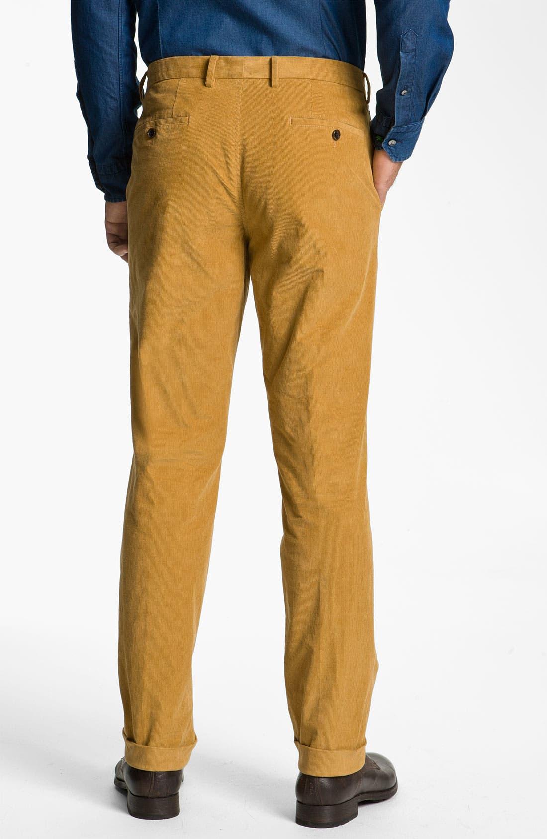 Alternate Image 2  - BOSS Black 'Shap' Corduroy Trousers