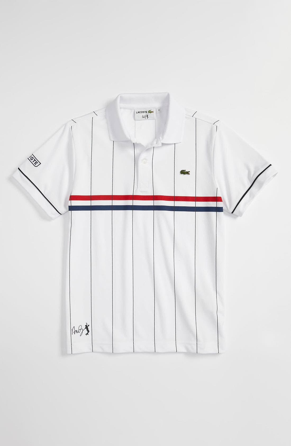 Alternate Image 1 Selected - Lacoste Short Sleeve Polo (Big Boys)