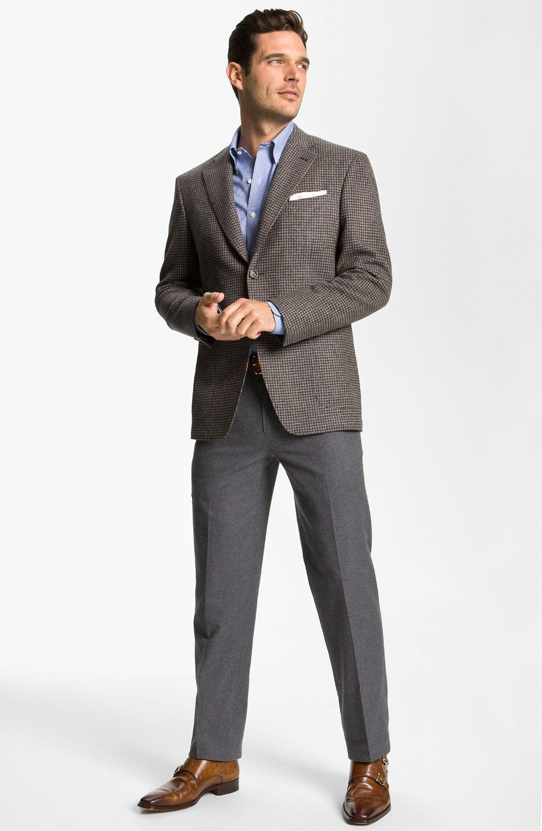 Alternate Image 4  - Canali Wool Sportcoat