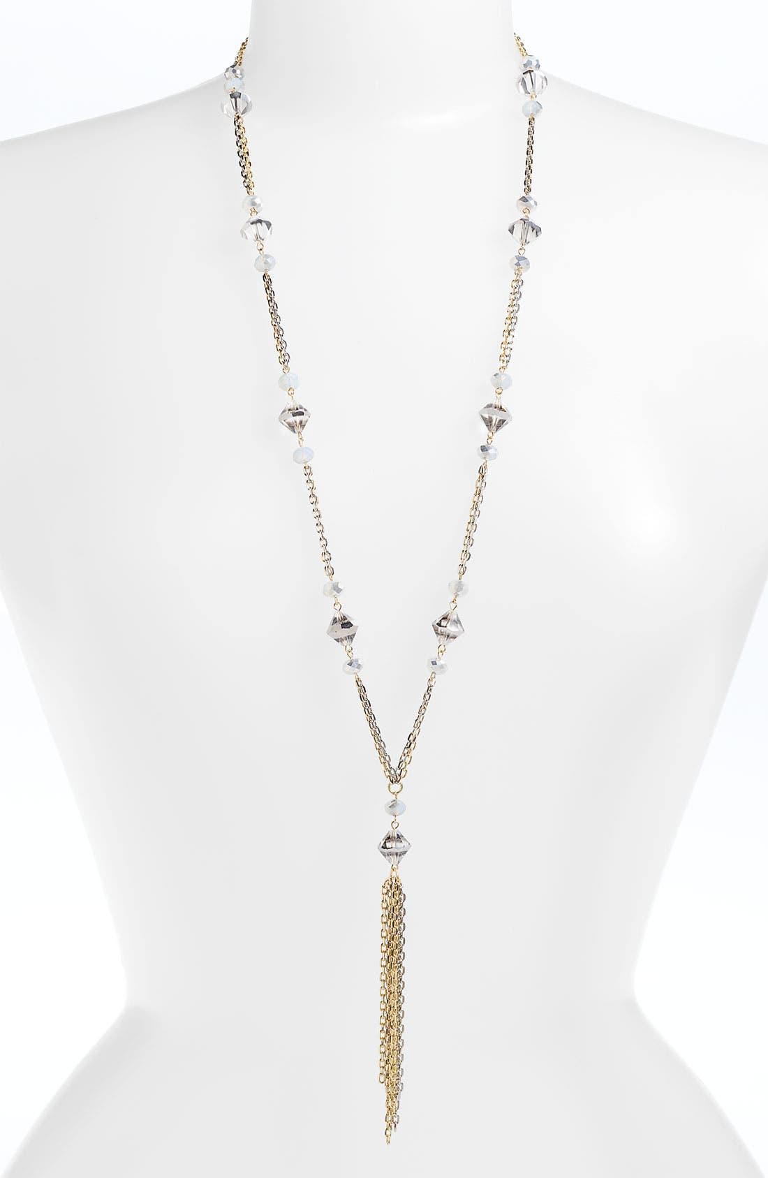 Main Image - Nordstrom 'Wisteria' Y-Necklace