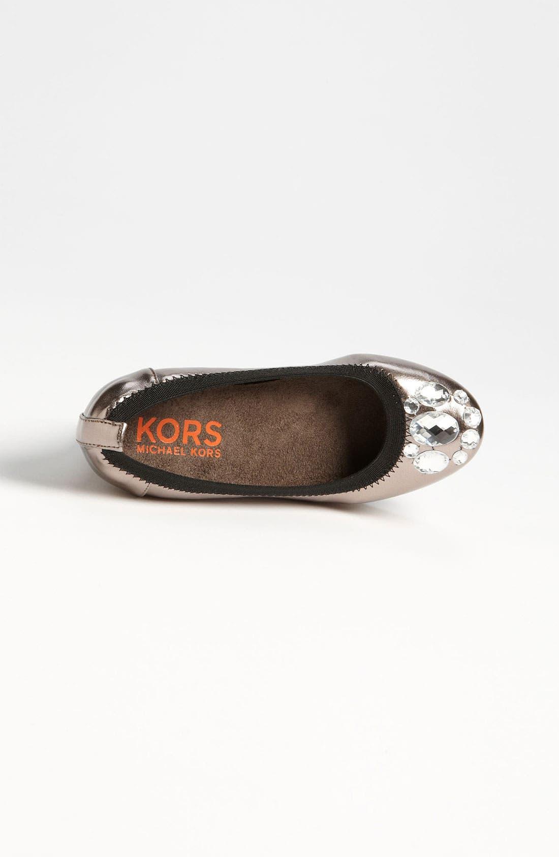 Alternate Image 3  - KORS Michael Kors Wedge (Little Kid & Big Kid)